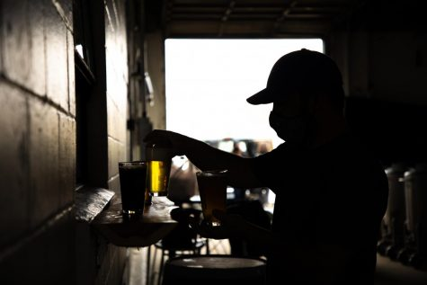 """Quentin Miller was one of several eager customers that were counting down the days until Gasper Brewing Companys grand opening. I am so happy for Isiah and his wife on opening their business and their beer is awesome,"""" Miller said."""