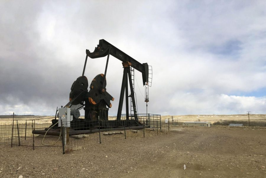 An+oil+well+is+seen+east+of+Casper%2C+Wyo.%2C+on+Feb.+26%2C+2021.+President+Joe+Biden%27s+administration+is+at+odds+with+the+petroleum+industry+in+the+Rocky+Mountain+region+and+beyond+for+imposing+a+moratorium+on+leasing+federal+lands+for+oil+and+gas+production.%C2%A0