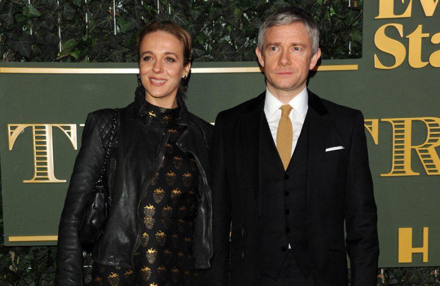 Amanda Abbington thinks she and ex Martin Freeman have done 'irreparable damage' to children