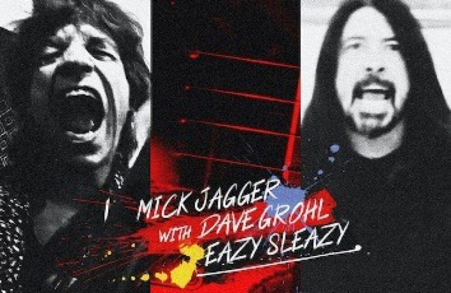 Sir+Mick+Jagger+and+Dave+Grohl%27s+new+song+Eazy+Sleazy