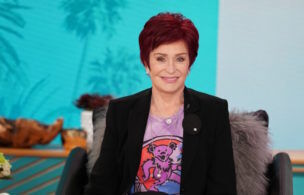 The ladies of The Talk, October 15, 2020 on the CBS Television Network. From left, Eve, Carrie Ann Inaba, Sharon Osbourne and Sheryl Underwood, shown. Photo: Sonja Flemming/CBS ©2020 CBS Broadcasting, Inc. All Rights Reserved