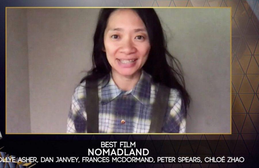 Nomadland+wins+four+gongs+at+EE+BAFTA+Film+Awards+2021