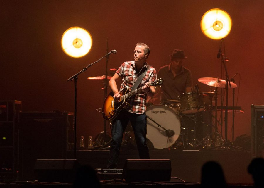 Grammy-winning music artist Jason Isbell, shown during the 2011 Mother Road Revival at BOK Center, will make his acting debut in