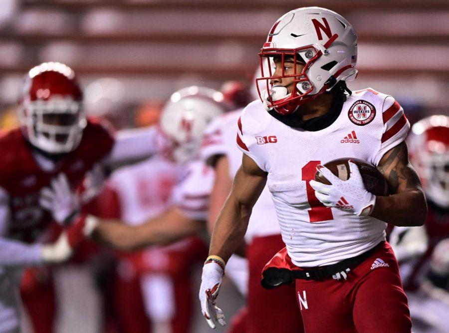 WanDale Robinson finds running room against the Rutgers defense last December in Piscataway, N.J.