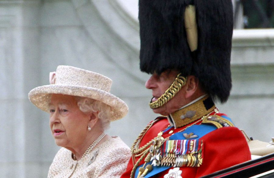 Prince+Philip+joked+about+looking+like+%27Mr+and+Mrs+Beckham%27+at+Jubilee+celebrations