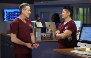 'Chicago Med': Brian Tee & Steven Weber Hint at More Conflict Ahead in the ED