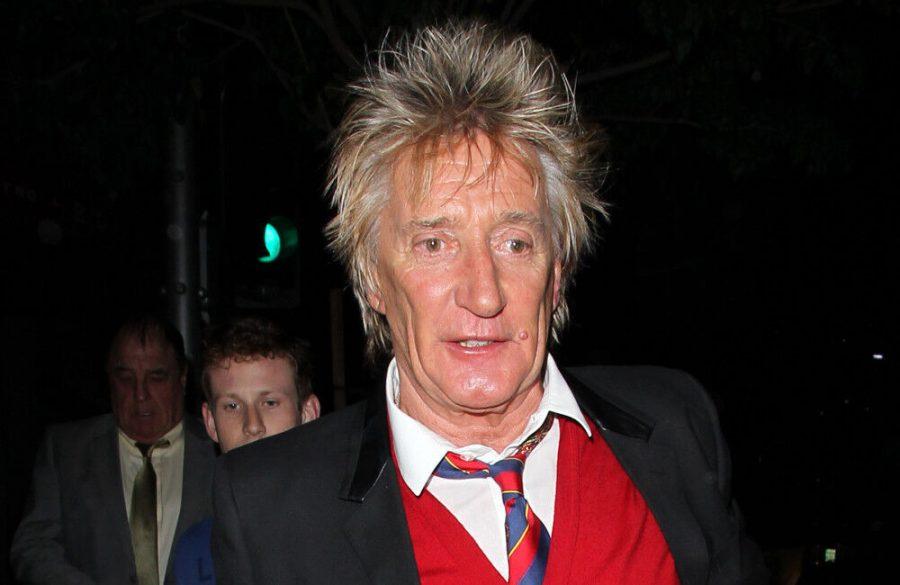 Rod Stewart used mayonnaise to create iconic hair style