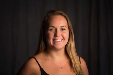 Recent WKU graduate Nicole Ares won the nationally competitiveBetty Gage Holland Award, which recognizes outstanding student journalism. Carrie Pratt/ College Heights Herald adviser