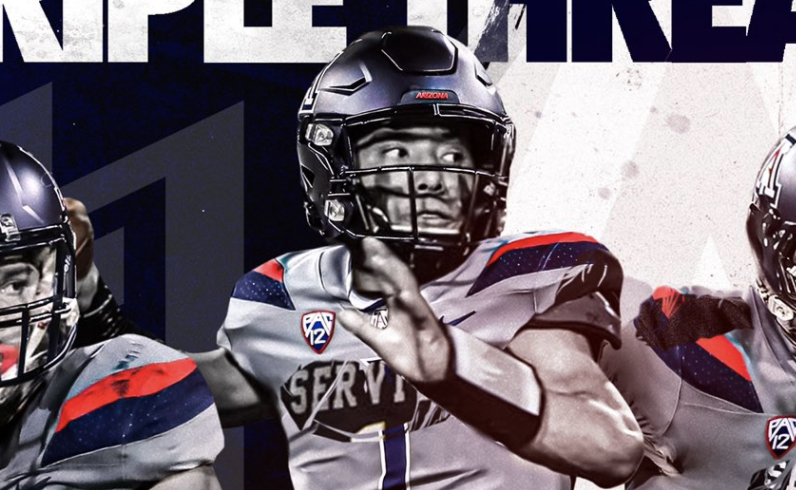 Noah+Fifita%2C+a+three-star+quarterback+from+Servite+High+School+in+Anaheim%2C+Calif.%2C+verbally+committed+to+the+Arizona+Wildcats%27+2022+football+recruiting+class+on+Sunday.%C2%A0