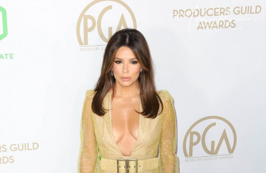 Eva Longoria doesn't get rid of any of her shoes