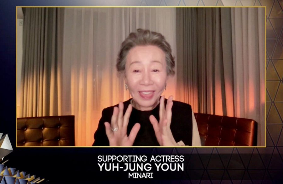 Yuh-Jung Youn thanks 'snobbish' Brits for helping her win a BAFTA