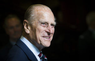 EDINBURGH, UNITED KINGDOM - JULY 04: Prince Philip, Duke of Edinburgh smiles during a visit to the headquarters of the Royal Auxiliary Air Forces (RAuxAF) 603 Squadron on July 4, 2015 in Edinburgh, Scotland. (Photo by Danny Lawson - WPA Pool/Getty Images)
