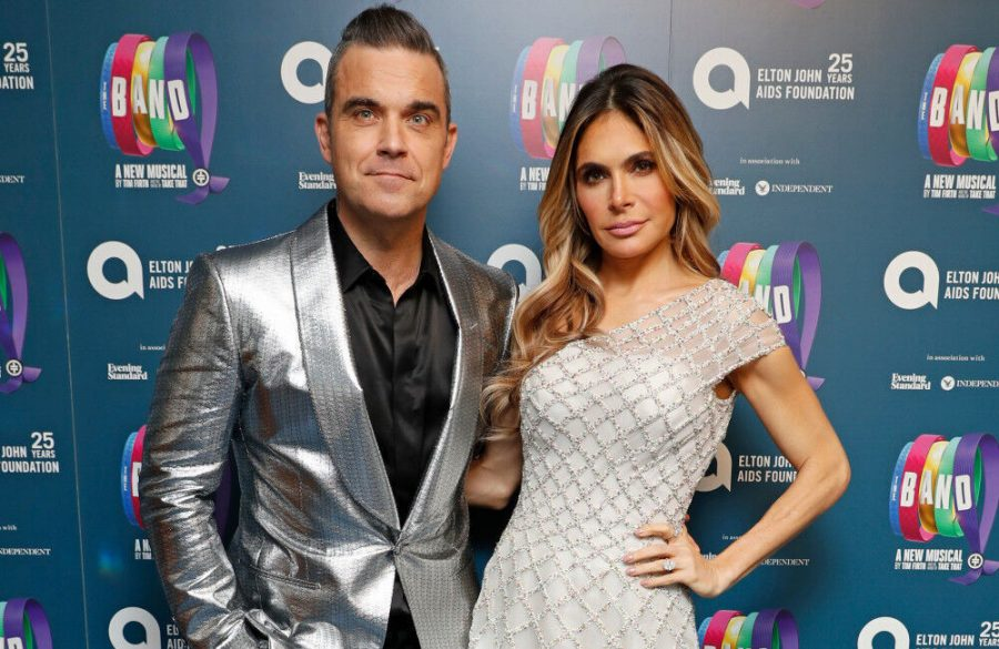 Robbie Williams and Ayda Field get first COVID-19 vaccines