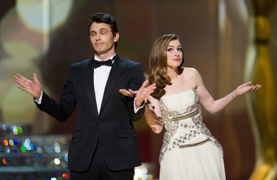 Oscars writers on James Franco and Anna Hathaways awkward hosting