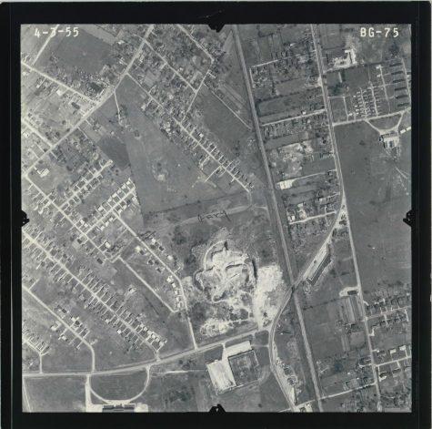 Photo of Jonesville from 1955. Courtesy of Tonya Colley.