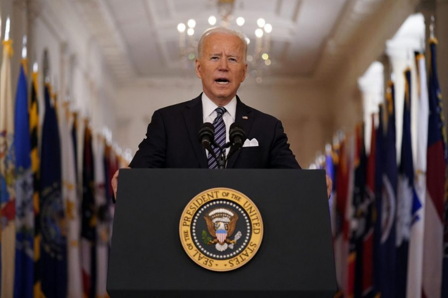 President+Joe+Biden+speaks+about+the+COVID-19+pandemic+during+a+prime-time+address+from+the+East+Room+of+the+White+House%2C+Thursday%2C+March+11%2C+2021%2C+in+Washington.