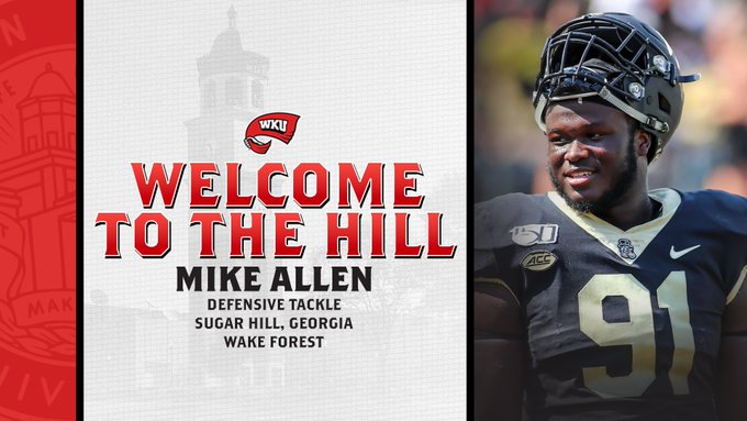 Hilltoppers+sign+Wake+Forest+defensive+tackle+Mike+Allen