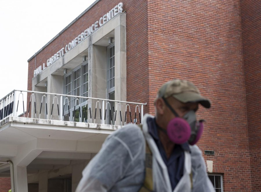 Garrett Conference Center will soon be demolished and made into green space for students.