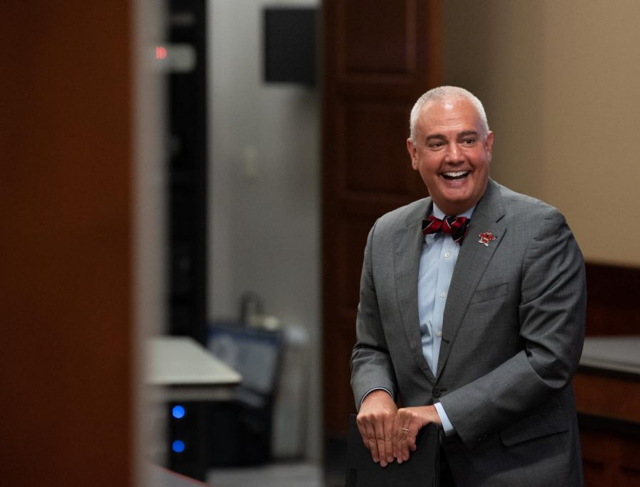 WKU President Timothy Caboni held a Q & A session with WKU's staff senate on Tuesday, June 1. Items discussed in the session included the budget, campus changes for the fall semester surrounding COVID-19 and removal of the distance learning fee.