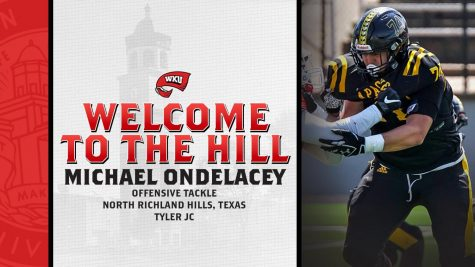 WKU Football signs JUCO transfer offensive tackle Michael Ondelacey
