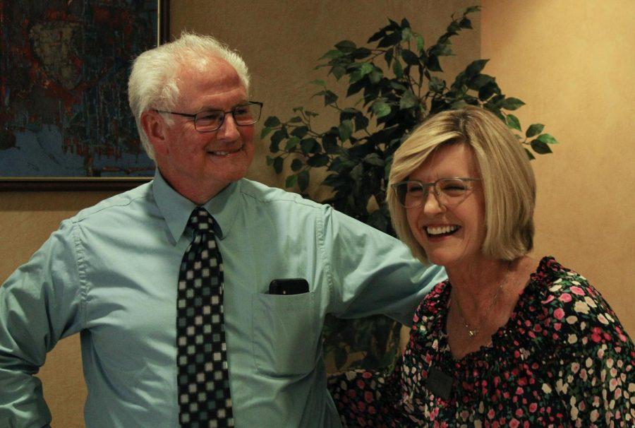 Bob Skipper, director of media relations and Debra Varner, administrative assistant will retire on June 30.