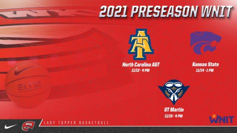 Lady Toppers to join 2021 Preseason WNIT