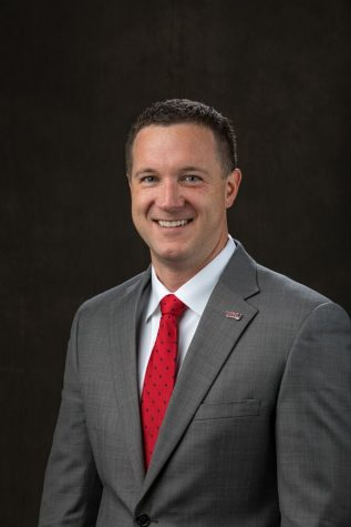 Jace Lux will be replacing Bob Skipper as director of media relations, and will start in his new position on July 1. Photo provided by WKU.