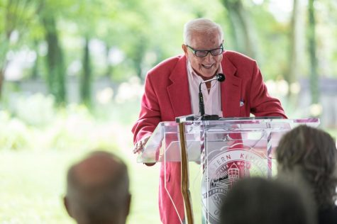 """Cliff Todd was a well-known donor and WKU alumnus. """"He would like to know that he"""