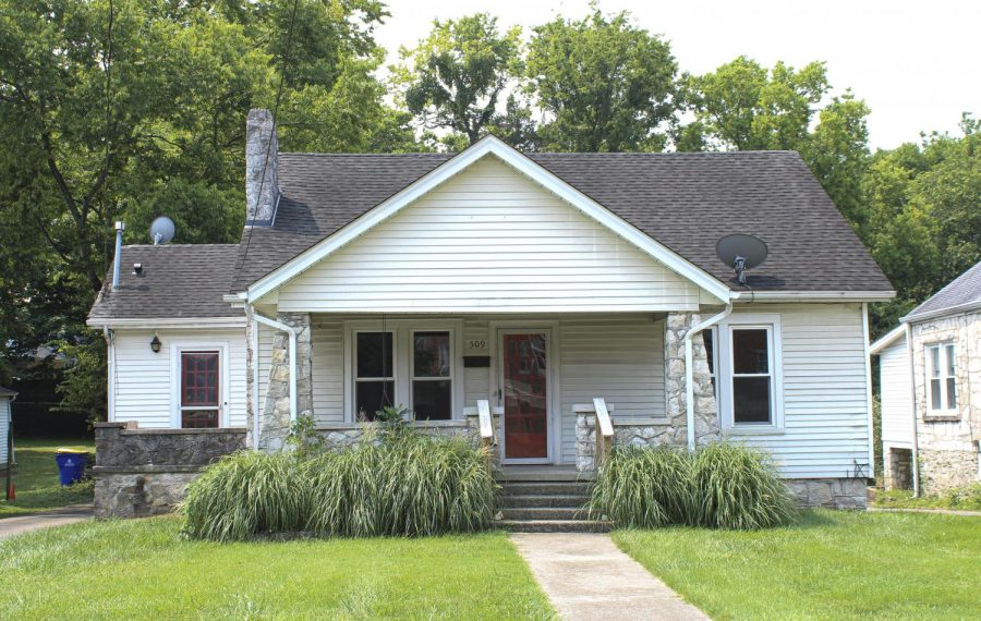 The College Heights Foundation plans to demolish the house located at 509 Regents Ave. to put staff parking for the Cliff Todd Center staff.