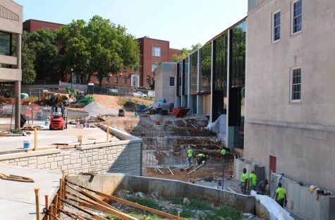 The WKU Commons construction project is set to be completed this fall. Once completed, the Commons will feature multiple new restaurants as well at temporary eating locations changing throughout the semester.