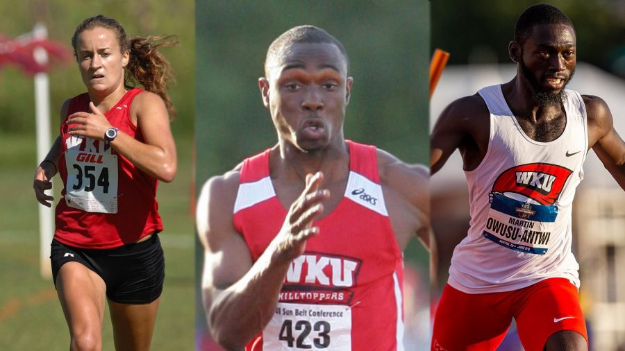 Three more former Hilltoppers headed to 2020 Tokyo Olympics