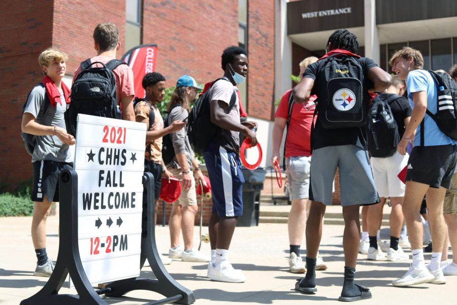 CHHS hosts Fall Welcome to welcome students back