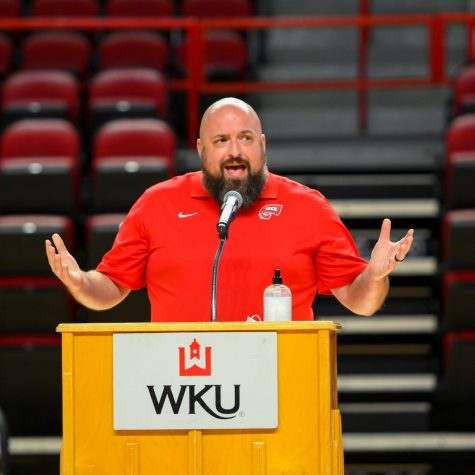 Dr. Joseph Case is a sports psychologist and the director of TOPCARE, a program that provides WKU student-athletes with resources to help tackle mental health issues.
