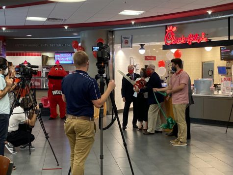 Campus Chick-fil-A receives sustainability certification
