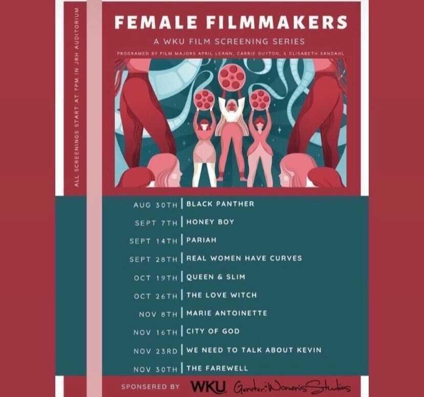 WKU Gender and Women Studies department hosts Female Filmmakers screening