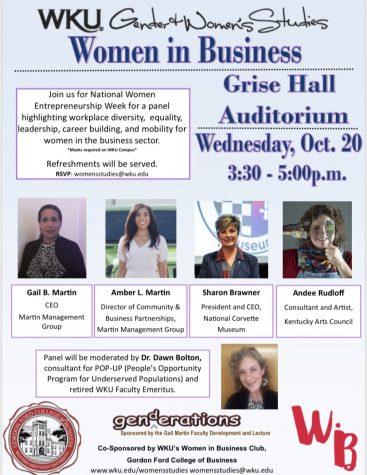 Women in Business panel hosted for National Women Entrepreneurship Week