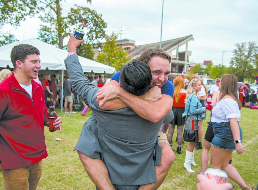 WKUs campus was filled Saturday afternoon, Oct. 19, 2019, as fraternities, sororities, students and others came to support the WKU football team.