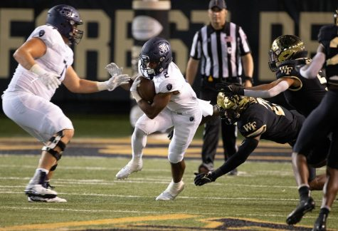 ODU redshirt sophomore running back Blake Watson will be a threat to WKUs rush defense when the two programs clash on Saturday, Oct. 16.